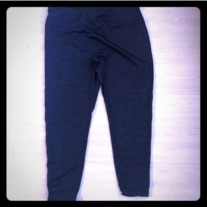 Athletic Works Pants - Blue workout leggings